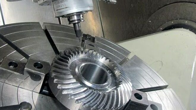 CNC milling and metal processing: most productive method